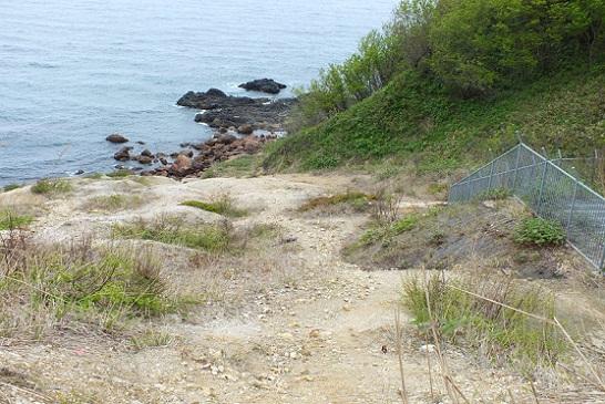 オタモイ海岸 謎の冷泉