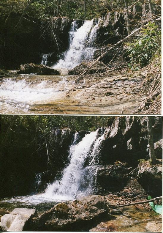 糸毛の滝 (4)
