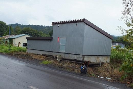 上砂川 湯小屋2