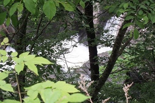 芦別の大滝(トンネ (1)