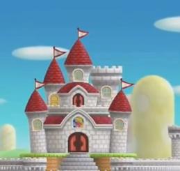 Uピーチ城塔