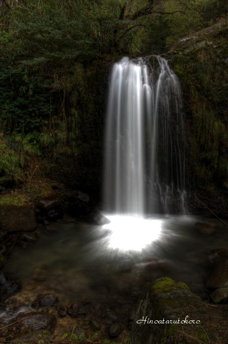 矢滝の滝1