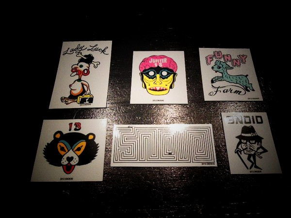 SNOID STICKERS