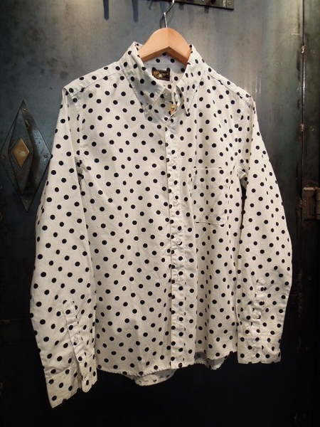 SOUTH ROAD BROAD DOT BD SHIRT