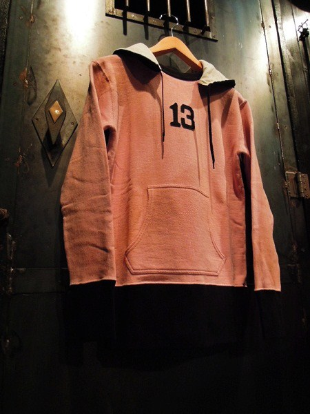THIRTEEN SWEAT PARKA