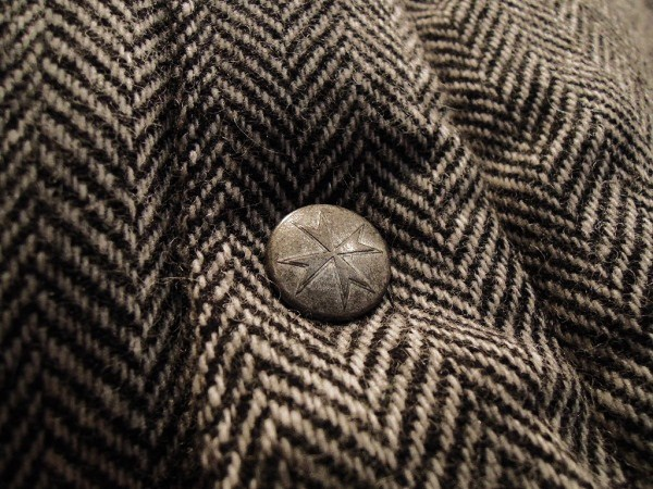 SOUTH ROAD  WOOL HERRINGBONE DOWN JKT (3)