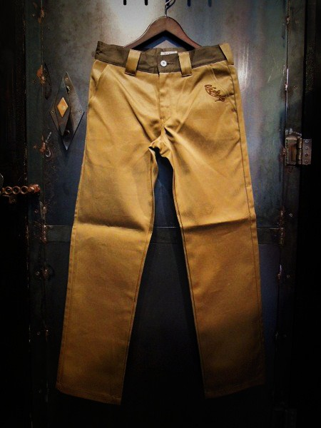 O.C Style TWO TONE WORK PANTS
