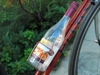 Bottle Cage with Wine Bottle_02