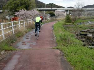 天川サイクリングロード