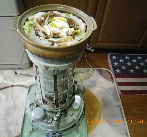2013年3月1日タラちり鍋