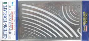 カッティングテンプレートB曲線