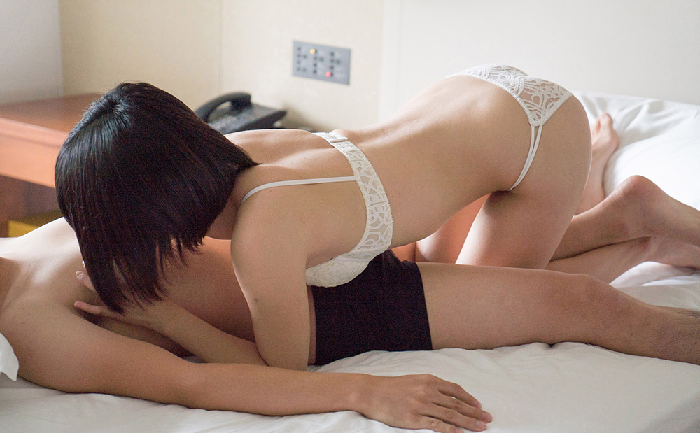 AV女優 白咲碧 フェラチオ 画像 3