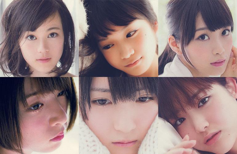 乃木坂46の美しきアイドルたち。