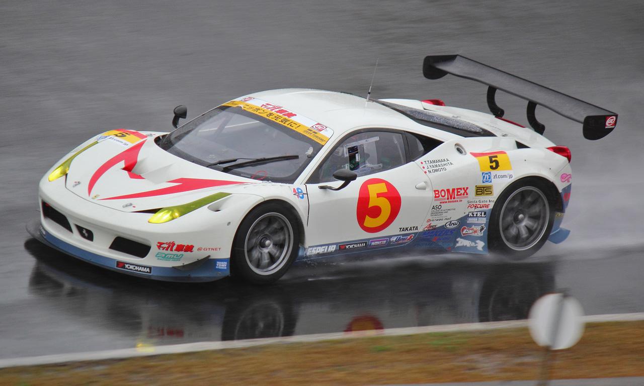 マッハGoGoGo車検Ferrari458(20130428)