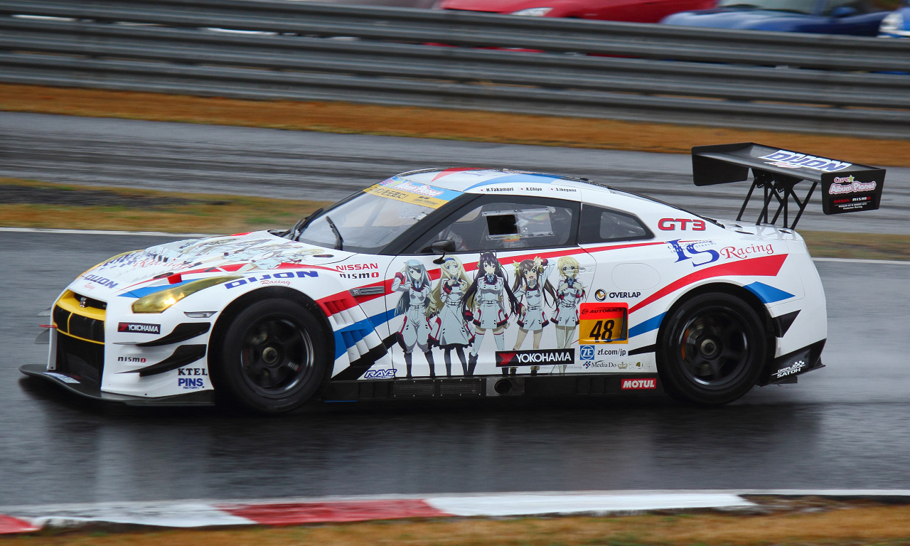 DIJON Racing IS GT-R(20130511)