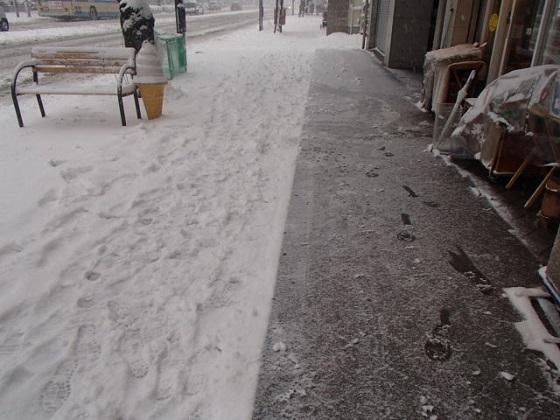 雪かき (4)