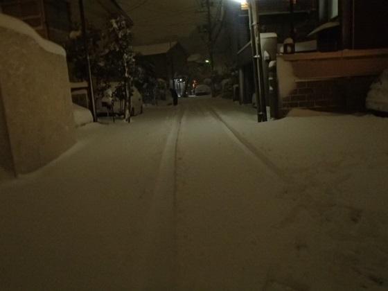 雪の帰り道 (1)