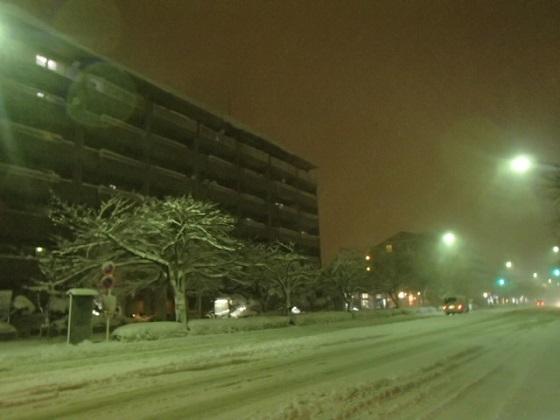 雪の帰り道 (2)