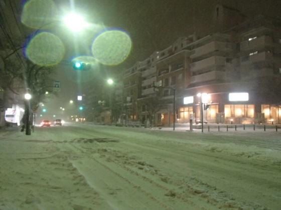 雪の帰り道 (3)
