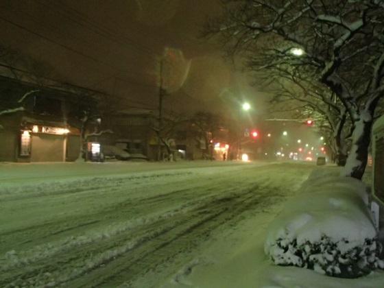 雪の帰り道 (5)
