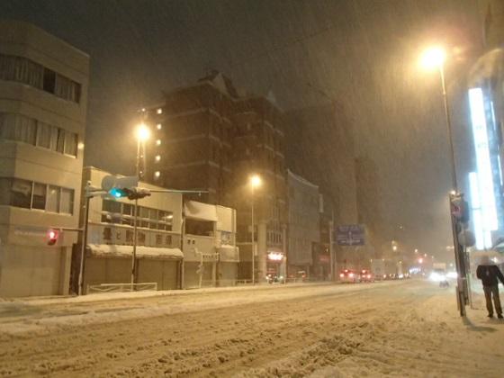 雪の帰り道 (7)