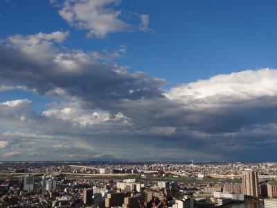 2013年4月7日 雨の後の空は綺麗♪