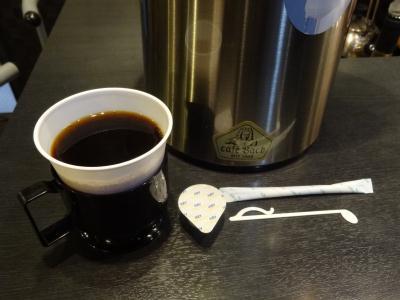 カフェバッハのコーヒー
