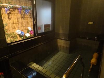 『ほていや』浴室の季節の飾り