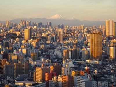 南千住から綺麗な富士山 ②