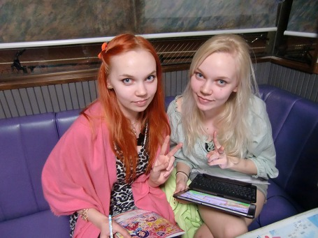 双子のフィンランド人姉妹 ①