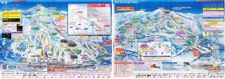 苗場スキーリゾート全図