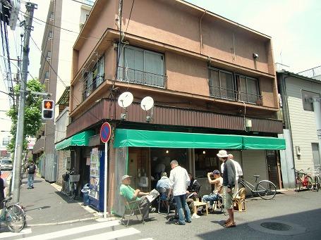 山谷の「駒寿司」全景
