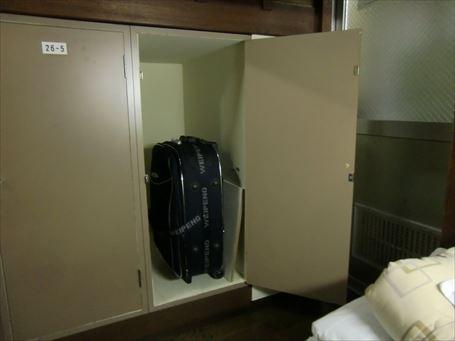 7人室の下段ロッカー(参考画像)