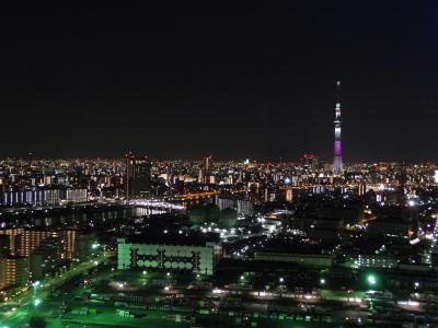 「桜特別ライティング」東京スカイツリー