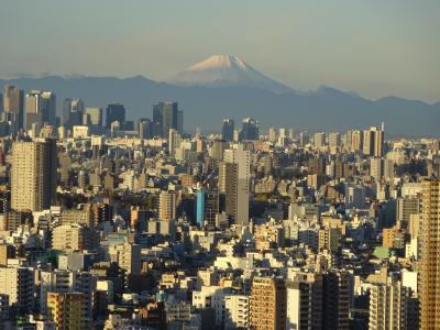 南千住から綺麗な富士山 ③