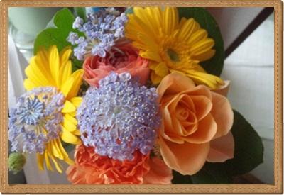 トトロさんがもらった花