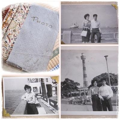 50年前の両親1