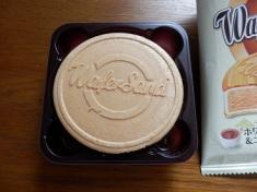 ウエハーサンドホワイトチョコ&ココア