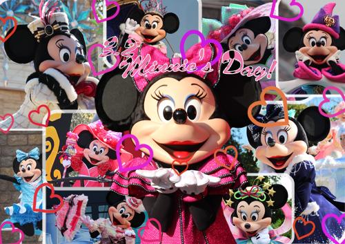 今日はミニーの日!*ミニーちゃん大特集!*1