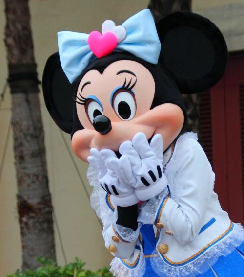 ミッキーとミニーちゃんのおしゃがみ☆どちらがお好み?5