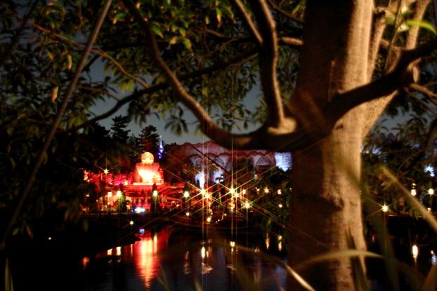 スノークロスの夜景と花火5