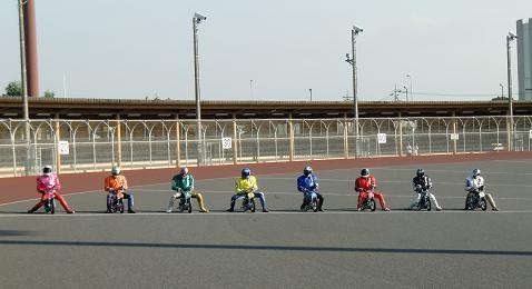 ナインドラゴン模擬レーススタート!