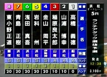 ランチアタック5R選抜予選