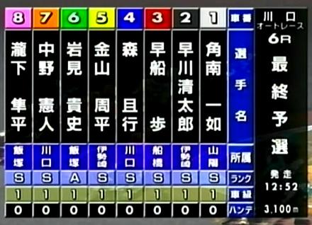 最終予選6R