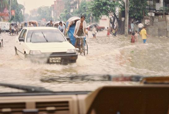 洪水警報の出ない床上浸水