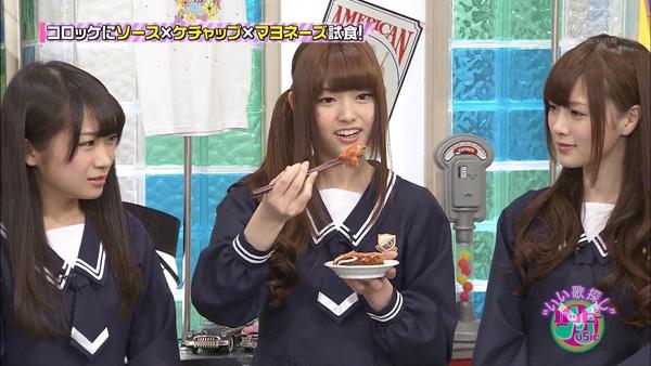 松村沙友理 箸の持ち方