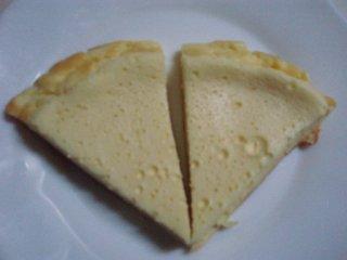 20121004佳奈ちゃん手作りチーズケーキ