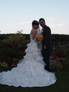 たっきー結婚式二人外