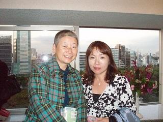 日本自費出版文化賞中山千夏さんとノグ