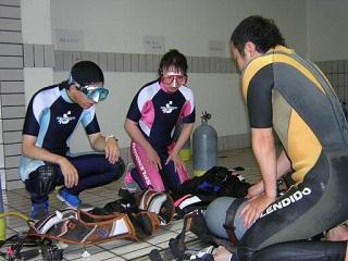 ダイビングこれからプール講習